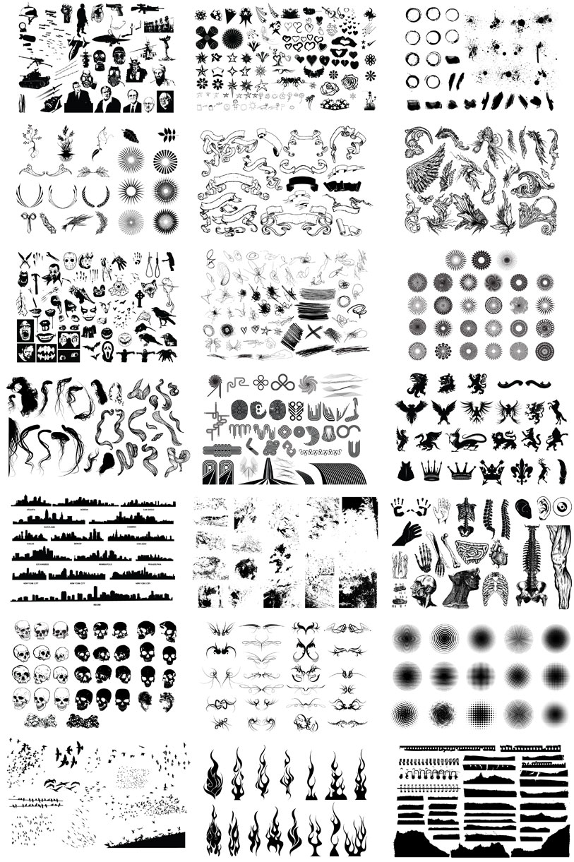 huge royalty free vector collection