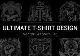 T-Shirt Design Vector Graphics